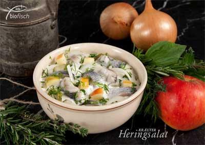 Bio Fisch Heringssalat Biobauernmarkt Freyung